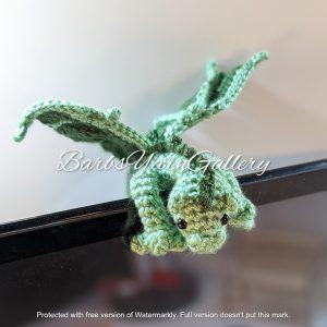 Green Laptop Dragon Buddy.