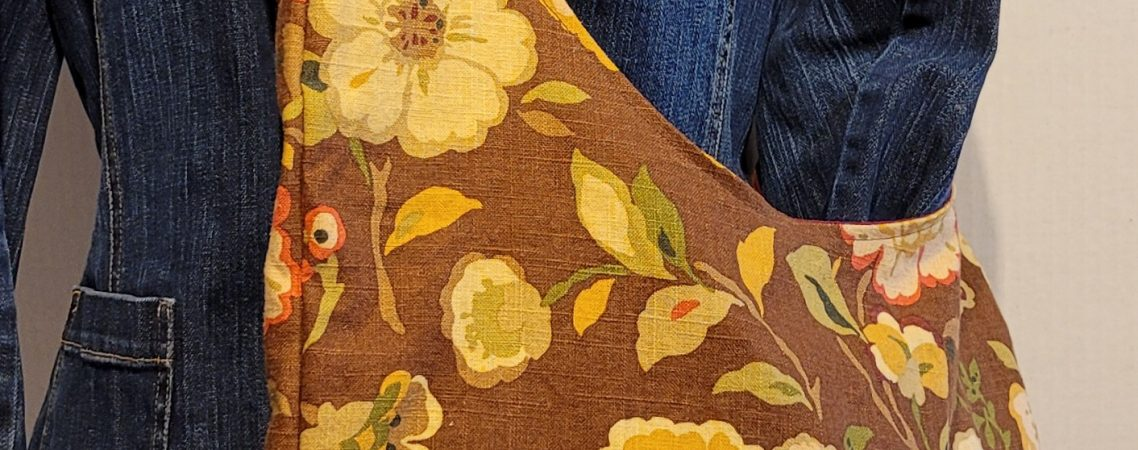 Colors of Fall Large Sling Tote