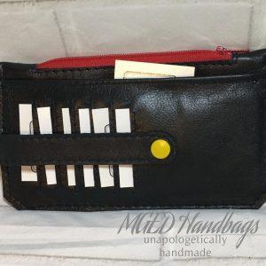 Leather Minimalist Slim Wallet Handmade by MGED Handbags