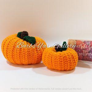 Crochet Pumpkin Set Decoration