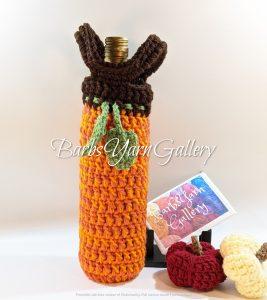 Autumn Cozy Bottle Tote