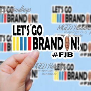 Let's Go Brandon Bidens Face Sticker Design, Print Your Own, Digital Download, SVG JPG PNG, Handmade by MGEDHandbags