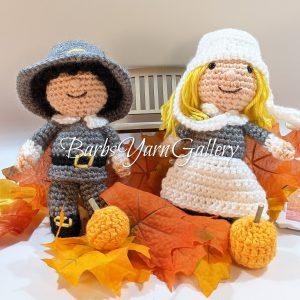 Thanksgiving Pilgrim Set