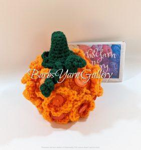 Button Pumpkin Fall Decoration