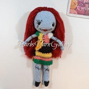 Sally Horror Doll Character